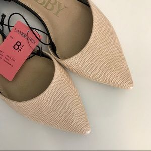 💎New Item💎 Pointed Toe D'orsay Flats 00189