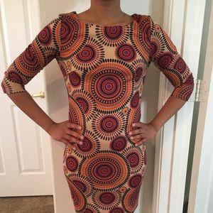 Dress VINTAGE (70s) print. ✨❤️