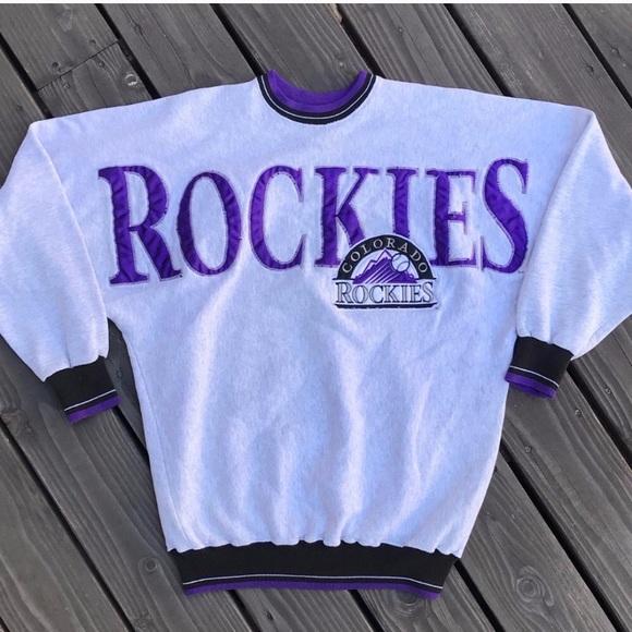 360ef3fd0 Vintage 90s MLB Colorado Rockies Crewneck. M_5a1f8e896802788d8301c3a7