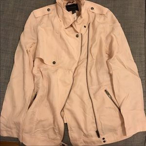 Light pink banana republic jacket