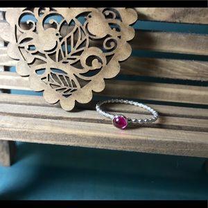 CBL Jewelry - PINK!! Maine Tourmaline sterling ring