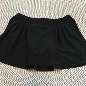 Lucy black tennis skorts