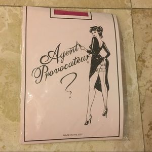 NWT Agent Provocateur Thigh Highs