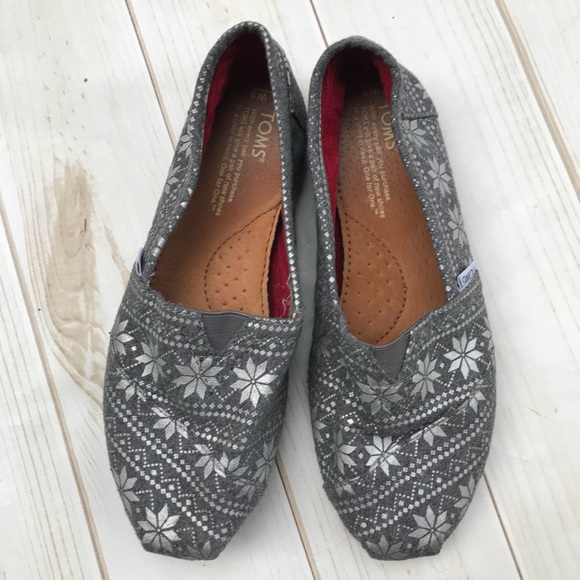 53% off Toms Shoes - Toms Fair Isle Print Flannel Shoes from !'s ...