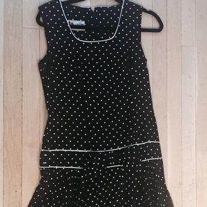 Dresses & Skirts - Vintage Flapper Polka Dot Dress
