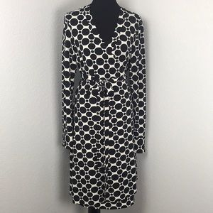 INC International Concepts Polka Dot Wrap Dress