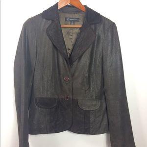 I.N.C.  Leather Jacket