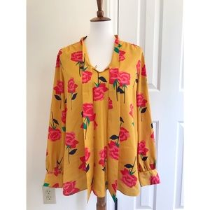 ISAACMIZRAHILIVE! Floral print blouse