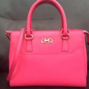 Salvatore Ferragamo Saffiano Leather Handbag