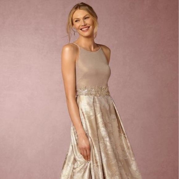 Anthropologie Dresses | Bhldn Lizbeth Dress With Sash | Poshmark