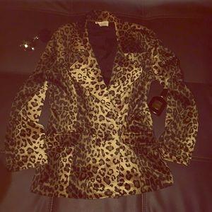 Jackets & Blazers - 🆕💄Vintage Velvet Leopard 🐯Coat