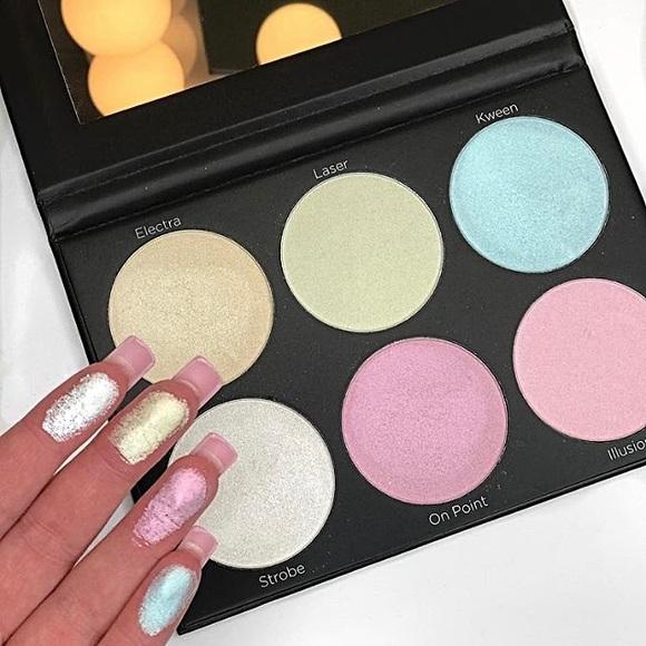 Makeup | Bh Cosmetics Blacklight Highlight Palette | Poshmark