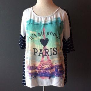 Le Lis PARIS striped top
