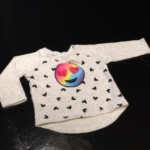 Infant girl's sweatshirt