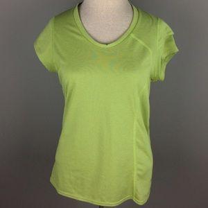Mountain Hardwear lime green active top