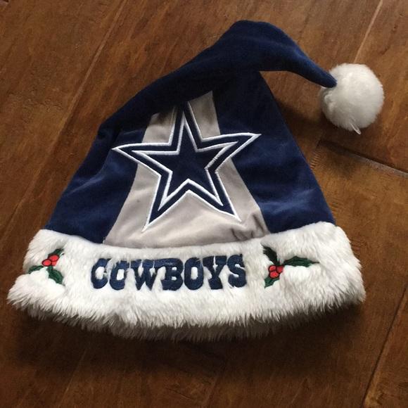 DALLAS COWBOYS Other - Dallas Cowboys NFL Christmas Holiday Santa Hat dab8fcab2