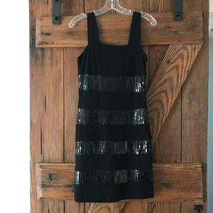 Vivienne by Vivienne Tam Striped Sequin Dress