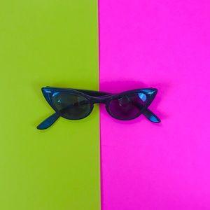 Vintage 50s Bausch Lomb cat eye sunglasses retro