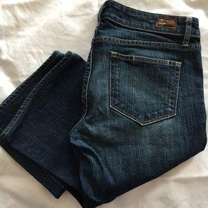 EUC paige Laurel Canyon jeans, size 28