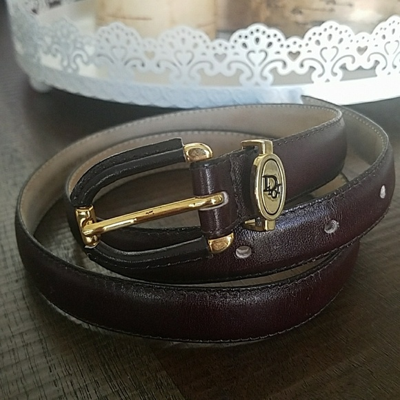 d8347ae996f Christian Dior Accessories - NWOT Christian Dior women's genuine cowhide  belt