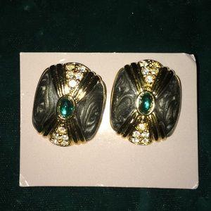 Kenneth Jay Lane K.J.L. For Avon Dutchess earrings