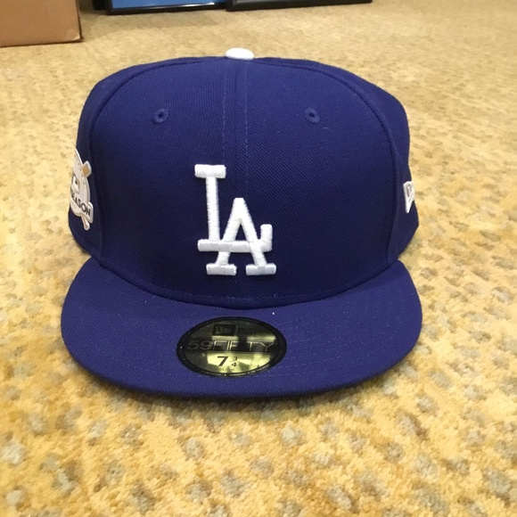 9f014cd3d43 New Era LA Dodgers Authentic Collection Fitted Hat