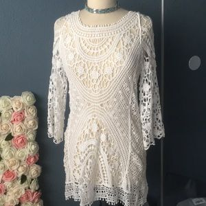 Other - OS Crochet Cover Up