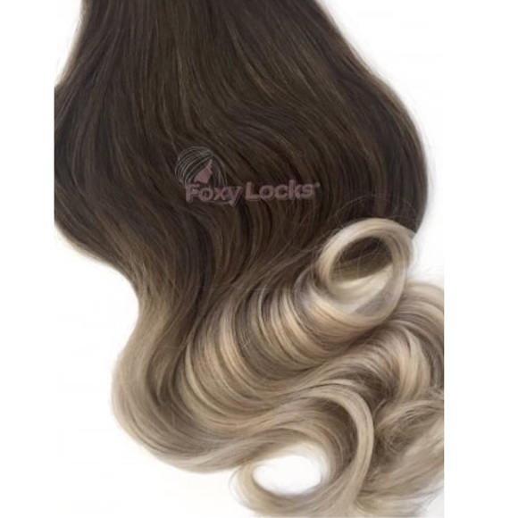 Clip In Hair Extensions Ombr Foxy Locks Poshmark