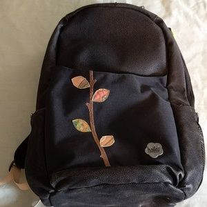 Large Haiku Black Backpack