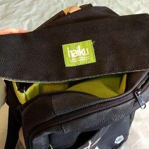 haiku Bags - Large Haiku Black Backpack