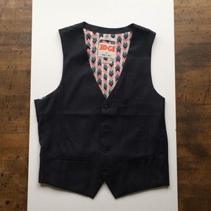 Other - Edge by WD.NY. Navy Blue Vest