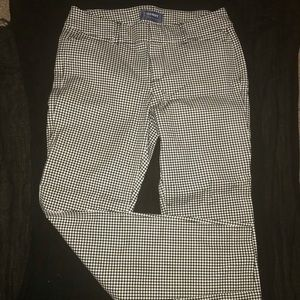 NEW Mid-rise Gingham Pixie-Ankle Pants-Old Navy