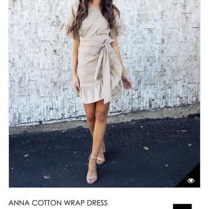 Anna Wrap Dress from Vici
