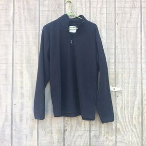 Men's Old Navy pullover half zip fleece jacket