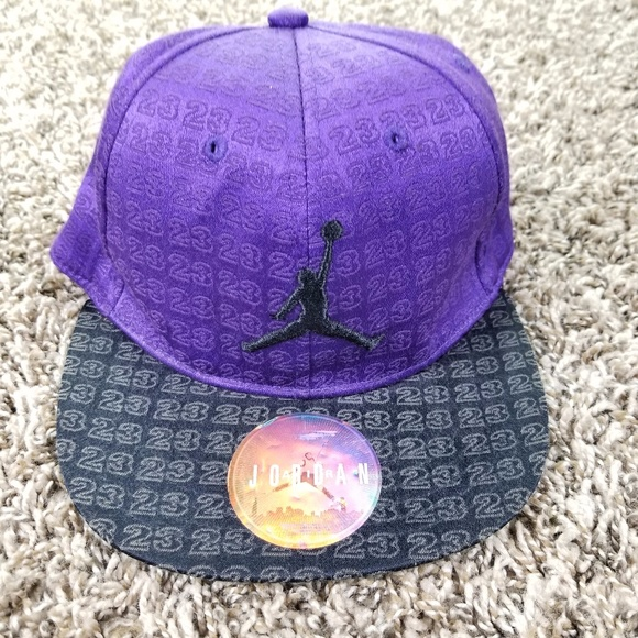 d7c67b12be5 Michael Jordan 23 Hat Cap Boys Youth Jumpman Logo.  M_5a203c7b2de512648d0388da