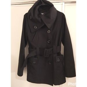 Dollhouse Pea Coat with Hood and Belt