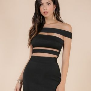Black Bandage Dress - WOW Couture - NWT