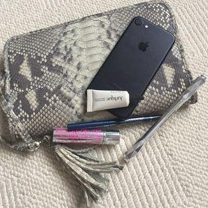 Handbags - Beautiful Reptile leather Clutch/ wallet