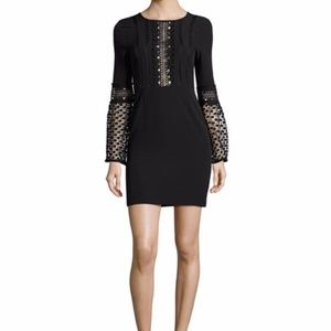 ❤️Host Pick❤️NWT Black long sleeve lace dress-NYE