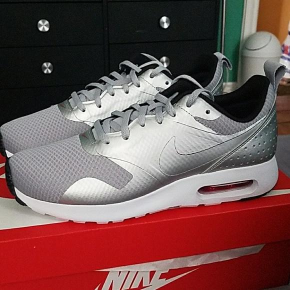 Nib Metallic Max Silver Nwt Tavas Nike Air rWxdoCBe