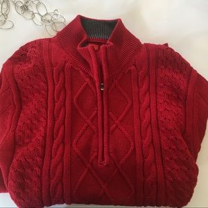 76% off Izod Sweaters - VINTAGE Lacoste Cableknit Sweater from ...