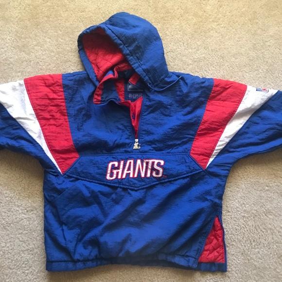 Starter Vintage Pullover New York Giants. M 5a204e95f092822e0303f9c5 e52f03942