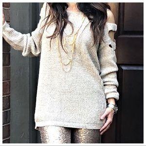 Sweaters - ✨LAST ONE ✨Ladder cut sweater
