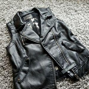 Blanknyc Vegan leather vest