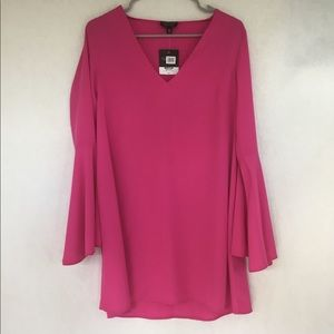 NWT Topshop Bell Sleeves Tunic (Sz 6)