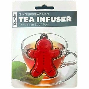 bbd3c036a2d8 Tovolo Other - Tovolo Gingerbread Man Tea Infuser Novelty Gift
