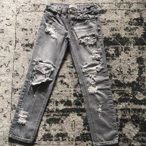 One teaspoon jeans (gray)