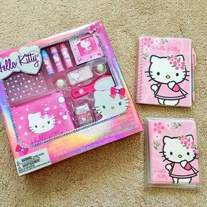 Other - Hello Kitty Beauty Kit, Notebook, Greeting Cards