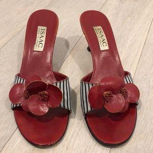 Isaac Mizrahi (NOT FOR TARGET!) red heels. Sz 8.