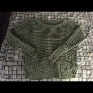 Sweaters - Crop top style chunky Sweater